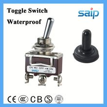 3P waterproof toggle switch overheat protection slide switch toggle lever