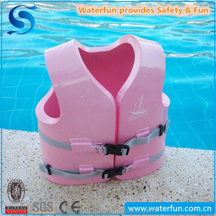 2017 New Model Fashionable Vinyl Coated Quick Dry Water Park Life Jacket for Children Adults Toddler Life Jacket