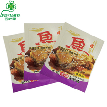 customized printed plastic dried fish foods packaging sachet high temperature boiling aluminum foil pouch