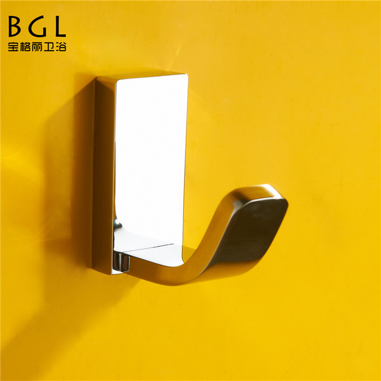 luxury bathroom design wall hook brass coat hook