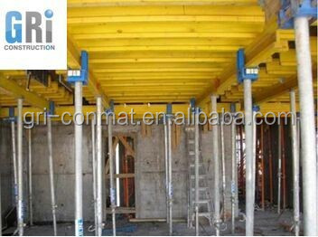 steel-frame plywood formwork girder system for building construction
