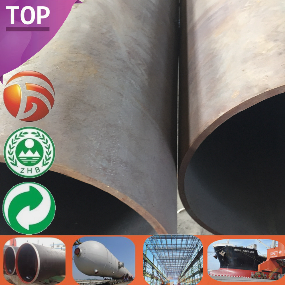 ASTM A333 Best Selling asme sa335 p91 alloy steel pipe Standard Sizes big diameter ms pipe