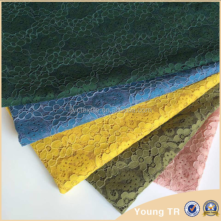 2016 hot sale african cord lace fabric,beaded design for garment