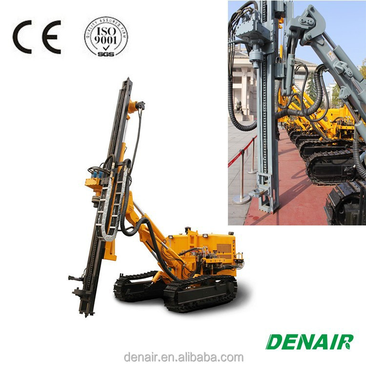 Crawler blast hole hydraulic rock drill for sale