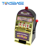 Hot Selling Kids Coin Operated Game B/O Slot Machine Toy For Sale