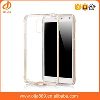 Waterproof transparent mobile phone cover case for samsung galaxy j1