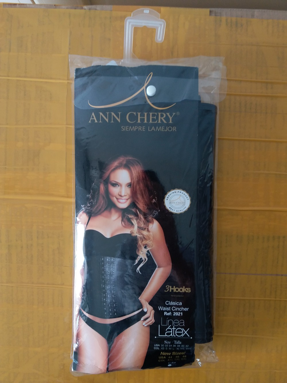 high quality latex hook 2021 ann cherry waist trainer latex waist cincher wholesale