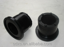 2017 Customized food safe FDA silicon rubber pipe plug Stopper/Cap for bottle in black color