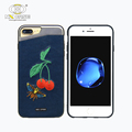 Embroidery mobile cases and covers online for iphone 7 pc tpu shock cases dust proof