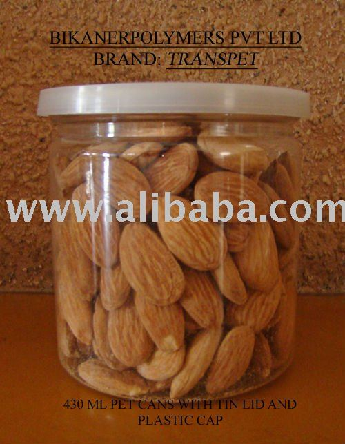 PET Cans for packing dry fruits