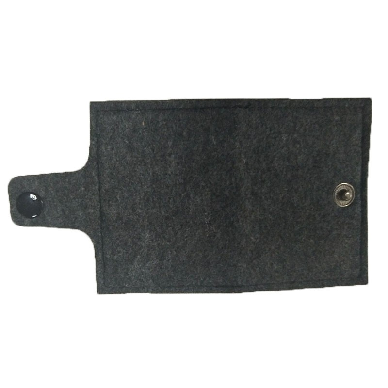 Hot sell fashion bank card package environmental felt cloth card sets of business card holder