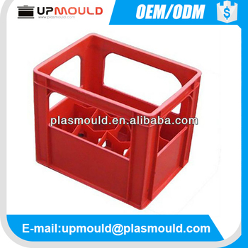 multi-cavity plastic mold plastic crate injection mold with beer bottle package