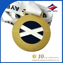 The new design Custom-made scotland gold,silver best selling medals