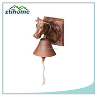 Cast Iron Cow Farm Dinner Bell