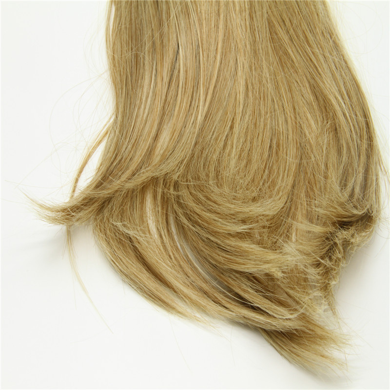 Quality long ponytail/blonde synthetic ponytail/hair clip ponytail