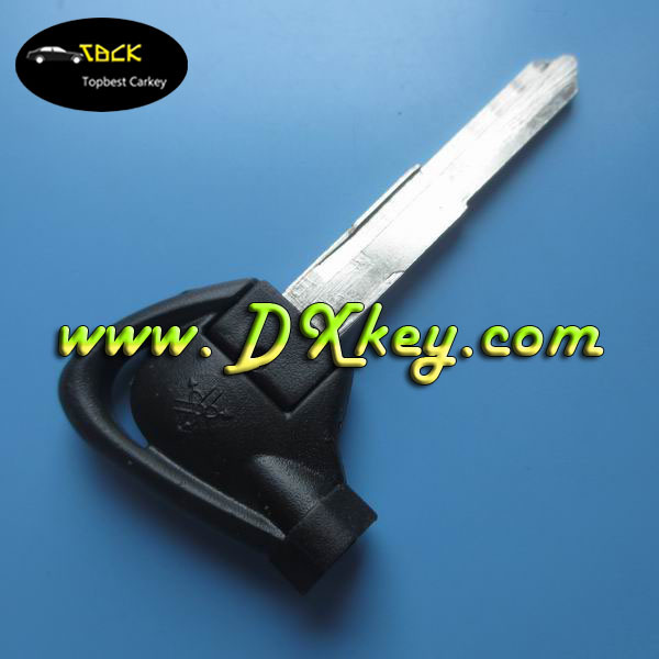 Yamaha motocycle key shell with left blade