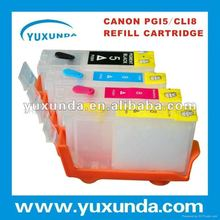 Stable Ink Cartridges Rechargeable for Canon PGI5/CLI8