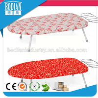 Fully stocked wooden ironing board, 1 year quality guarantee mini ironing board, Household folding chair ironing board