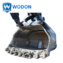 ISO9001 certificated bimetal wear resistant clad plate bucket excavator wheel