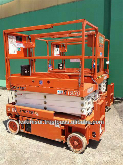 Snorkel S1930 Scissor Lift Table