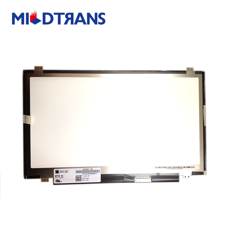 led panel 14.0 laptop spare parts for asus laptop in china price HB140WX1-