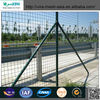 Low price double edges pvc coated wire fence/lowes hog wire fencing