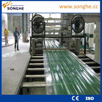 frp roofing sheet processing construction machinery