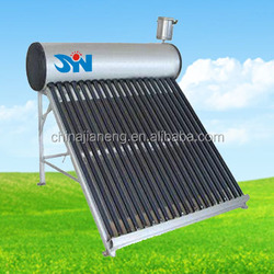 Factory direct-made compact solar water heter (solar system) for household