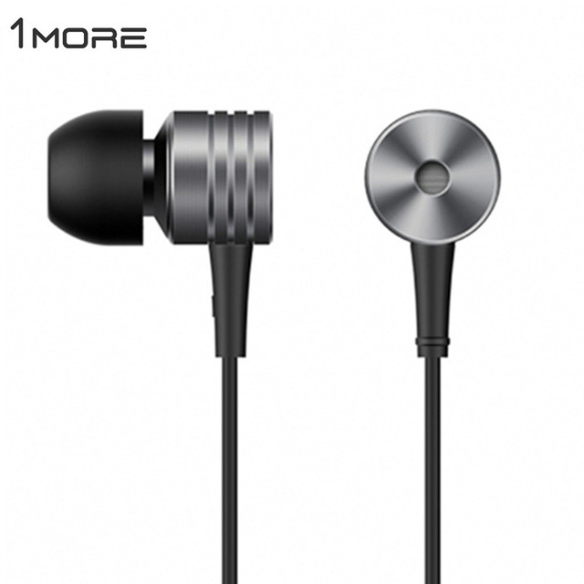 100% Original 1more Earphone For Xiaomi Piston 2 3 In-Ear Stereo Earphone Mic 1 More Earphones Classic Earbud Headset Engraved