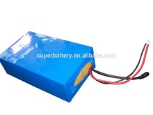 Ultra power 36V 20Ah LiFePO4 18650 E-Vehicles battery with promotions