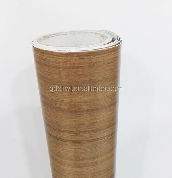 Furniture Accessories Interior Sheet Wood Grain Cabinet Decoration Foil Adhesive Paper