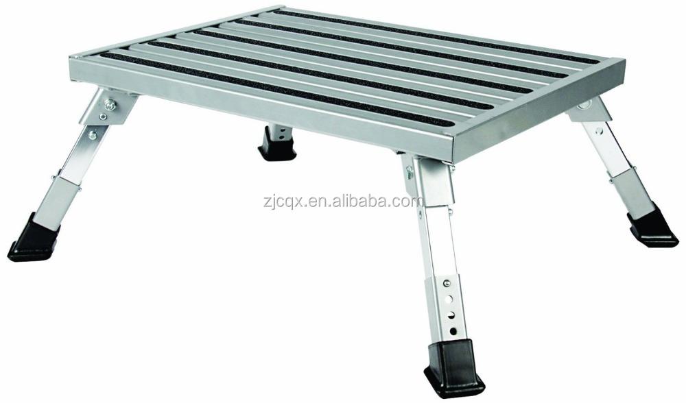 Adjustable Height Aluminum Platform Step Buy Adjustable