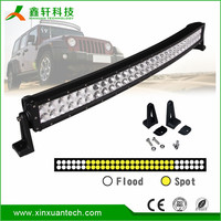 "4D 120w atv off road roof lights 20"" double row car led light bar 20 inch"
