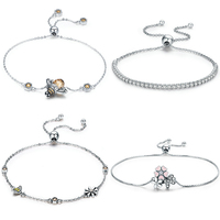 New arrival wholesale jewelry 925 italian silver Bracelet