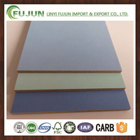 melamine faced mdf/solid color mdf/mdf wood color