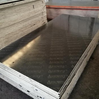 Brown construction plywood concrete shuttering board