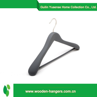 hot china products wholesale black pants and skirt wooden hanger