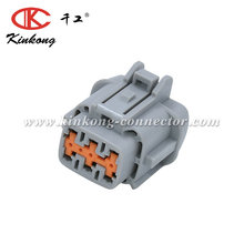 Kinkong 6 pin gray female waterproof automotive electrical connector for Sumitomo 6185-1175