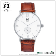 Hotselling fashion watches men make your own brand logo with water resistant