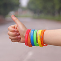 Wholesale cheap silicone bracelets great quality customized silicone bracelet wristbands