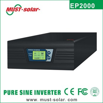 <Must solar>300w 400w 600w 800w 1000w Rack mount design pure sine wave dc to ac 12v 220v power inverter for boiler