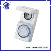 Multi-countries styles 220-240V AC 24-hour programmable timer