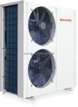 EVI domestic hot water Air-Cooled Chiller heat pump R407C Copeland compressor 14kw