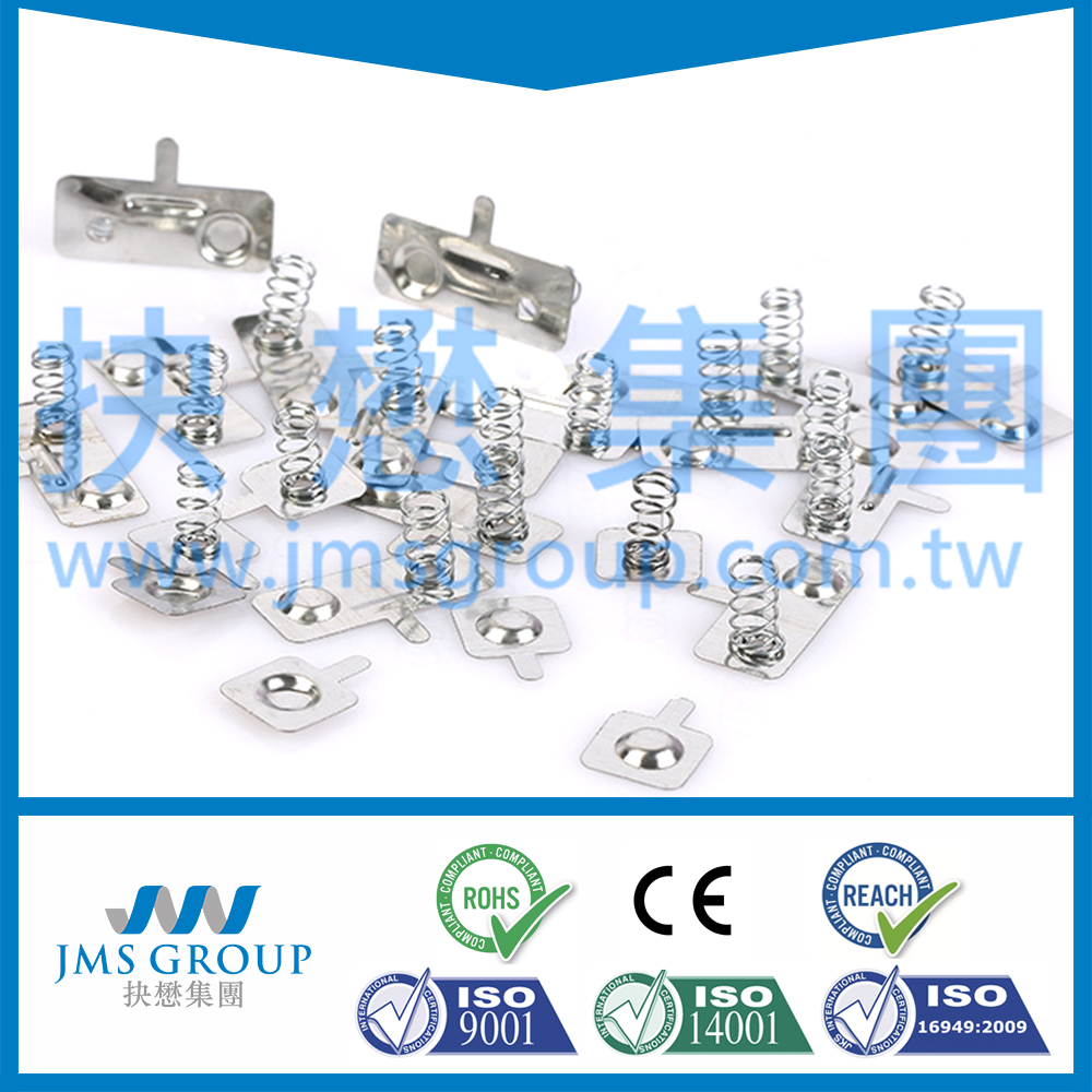Factory price custom SWP SUS wire spring battery contacts and battery clip