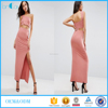Latest casual dress designs women one piece dress one shoulder pleated bodycon dress