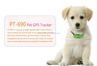 Castel Mini Smart Pets GPS Tracker Dog GPS Manufacturer with IOS and Android App Free