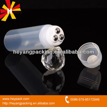 Roller blind cosmetic tubes for massage