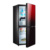 BCD-115WA glass door frost free refrigerator no frost Ningbo kitchen