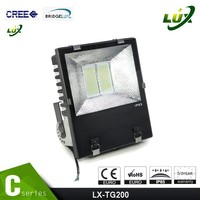hot sale projector lamp 200w outdoor led flood light