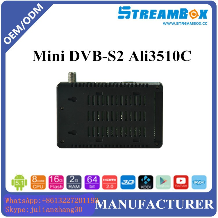 1 year manufacturer warranty Ali3510c chipset Iran channel tv box receiver in set top box USALS Set in menu